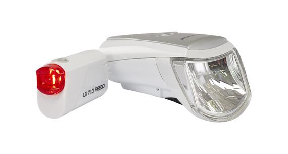 Trelock LS 750 i-go / 710 Combiset white